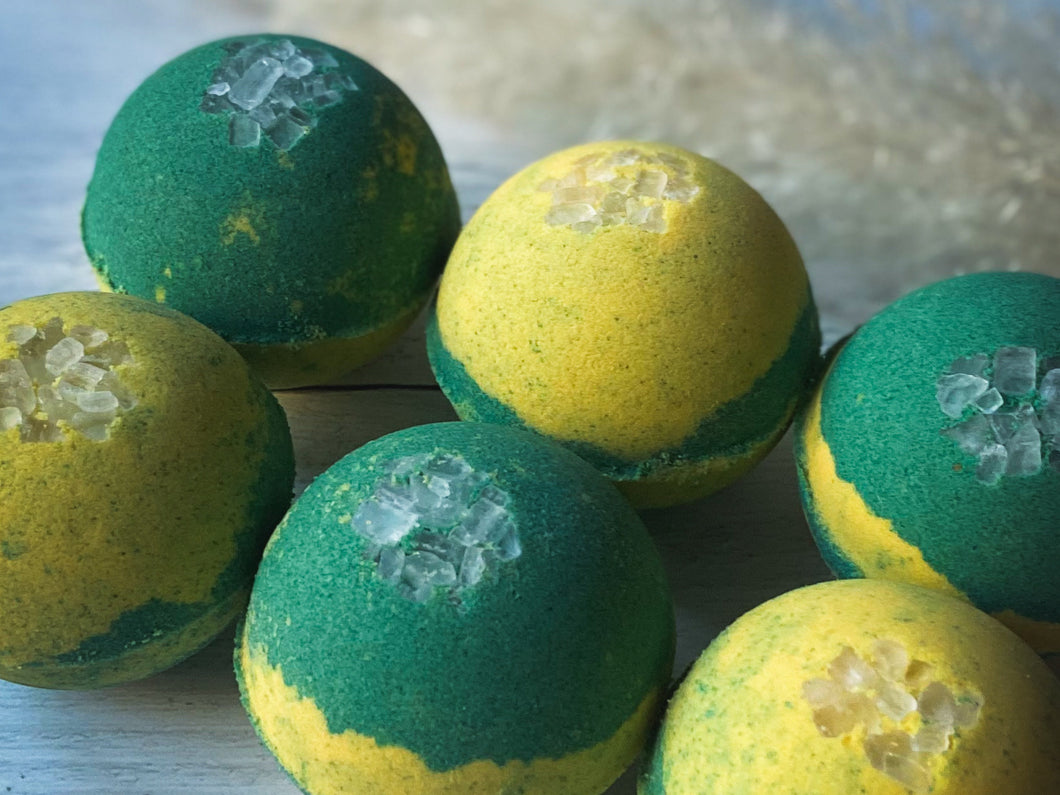 January Bath Bomb of the Month: Chamomile