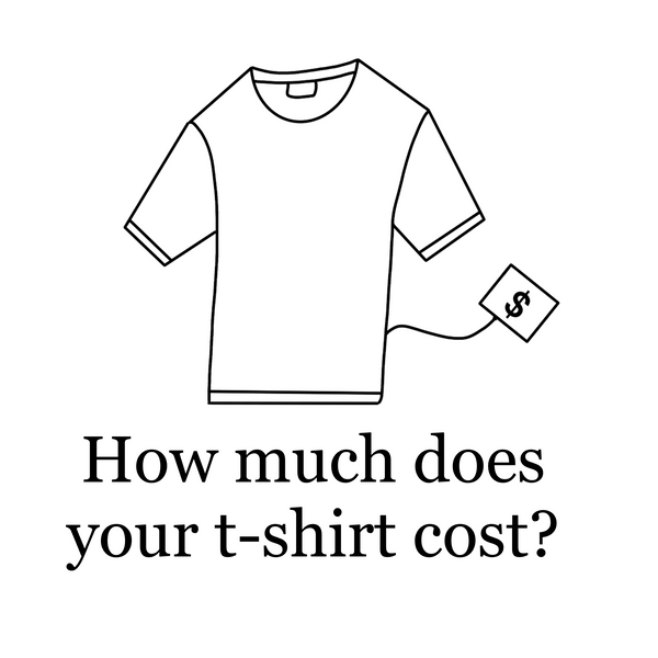 How Much Does Your T-shirt Cost?
