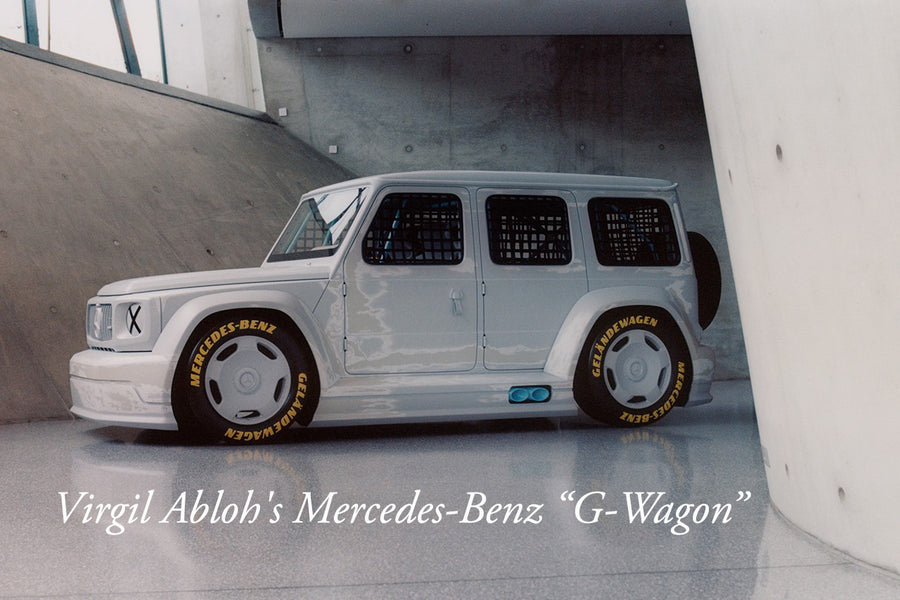 "Virgil Abloh's Mercedes-Benz ""G-Wagon"""