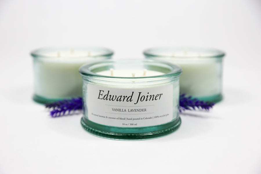 Edward Joiner's Vanilla Lavender Candle