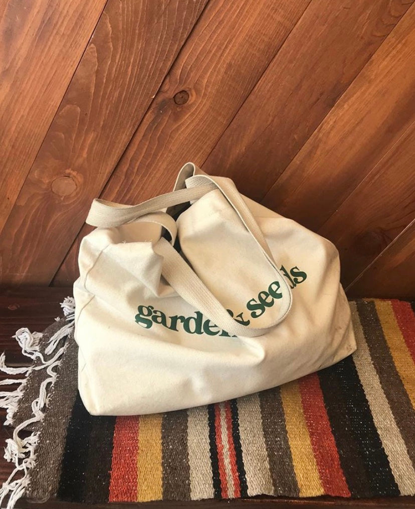 Garden and Seeds Clothing Brand Tote Bag