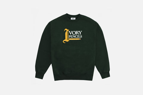 Saint Ivory NYC Ivory Pencils Sweater