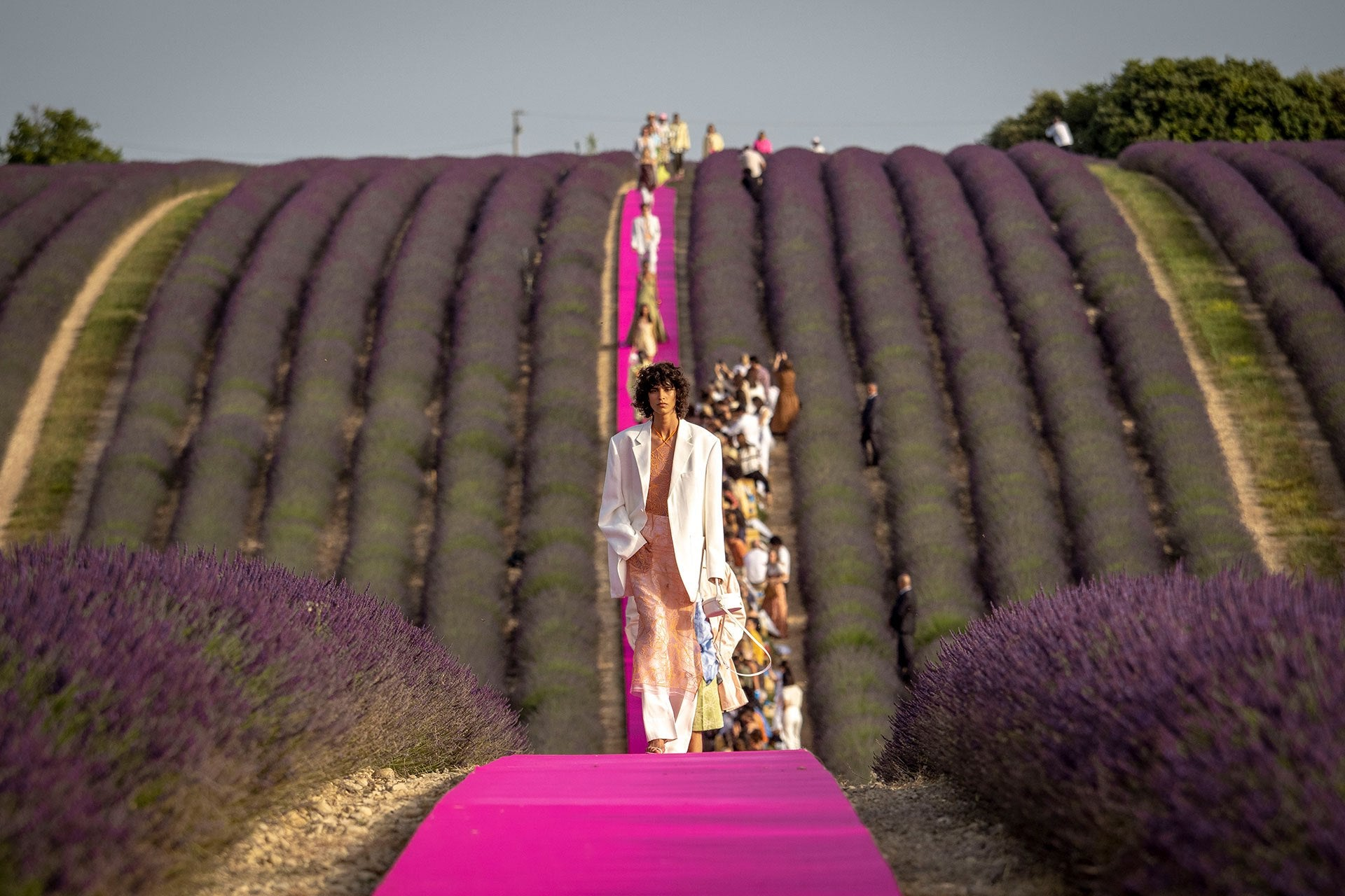 Jacquemus Spring 2020 Fashion Show in Valensole, France