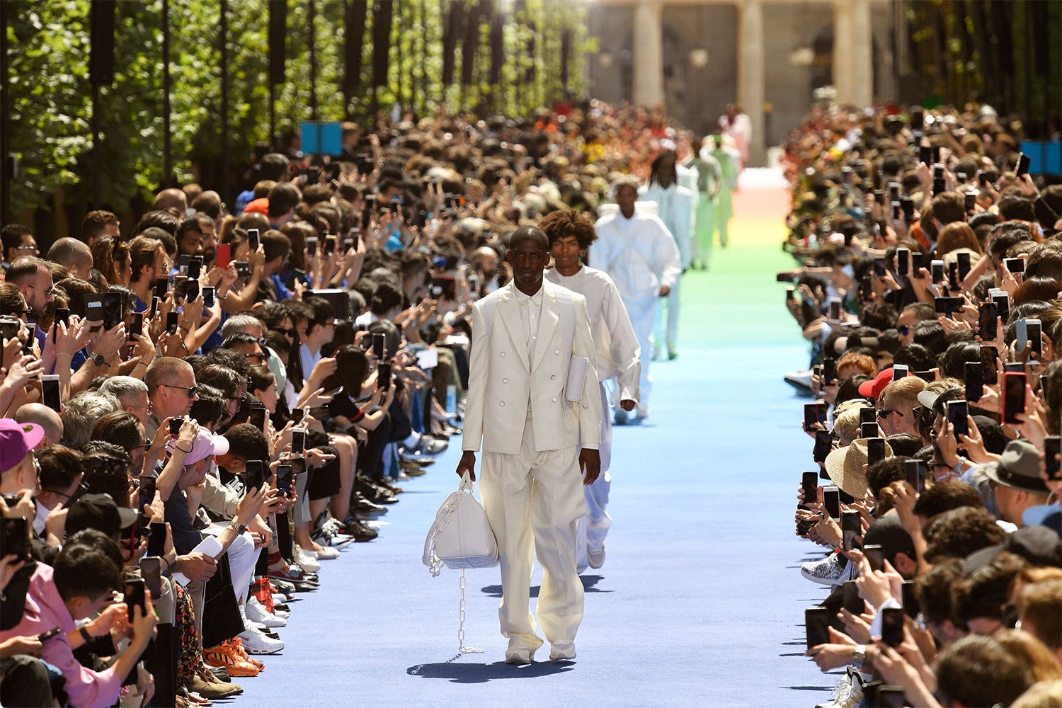 Virgil Abloh Men's Spring/Summer 2019 Fashion Show in Paris