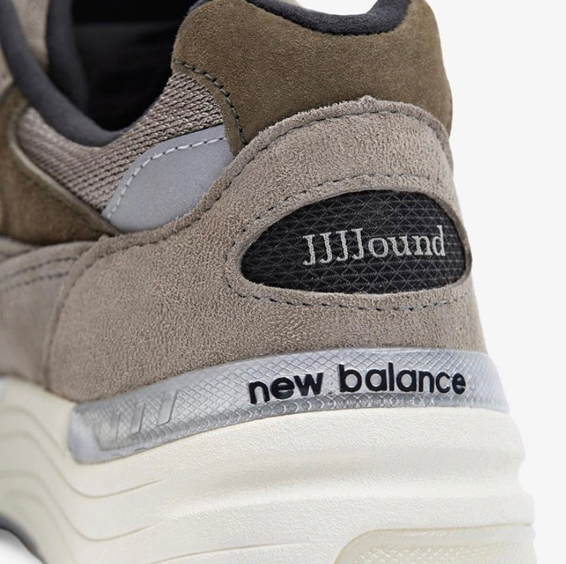 The JJJJound Grey New Balance 992