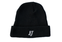 Load image into Gallery viewer, Black EJ Beanie