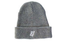 Load image into Gallery viewer, Grey-Speckle EJ Beanie