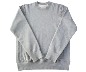 Grey EJ Signature Crewneck