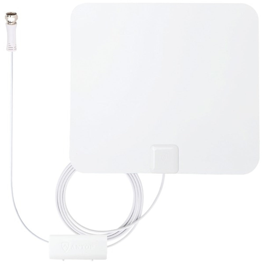 ANTOP Antenna Inc. AT-100B Paper-Thin Smartpass Amplified Indoor HDTV Antenna