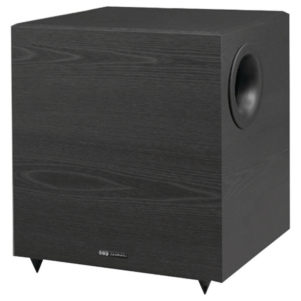 BIC America V1020 Down-Firing Powered Subwoofer for Home Theater and Music (10-Inch, 350 Watts)