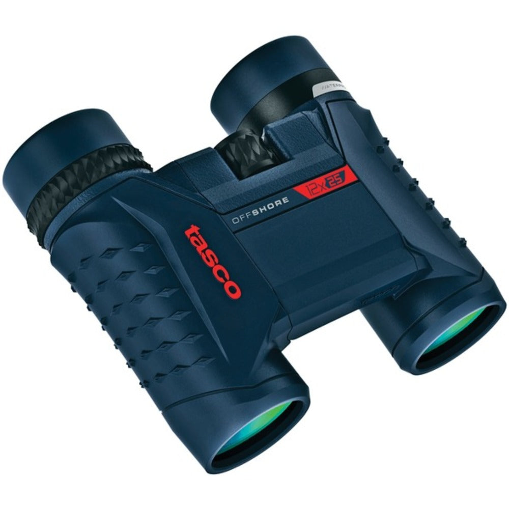 Tasco 200122 Offshore 12x 25mm Waterproof Folding Roof Prism Binoculars