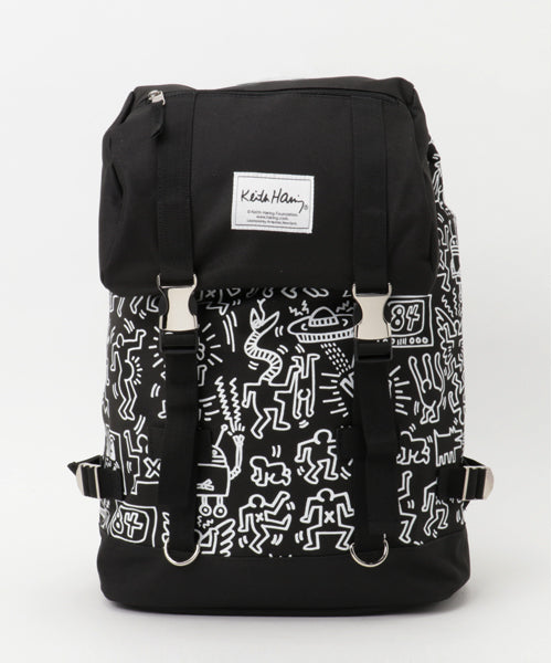 Keith Haring Strap Backpack