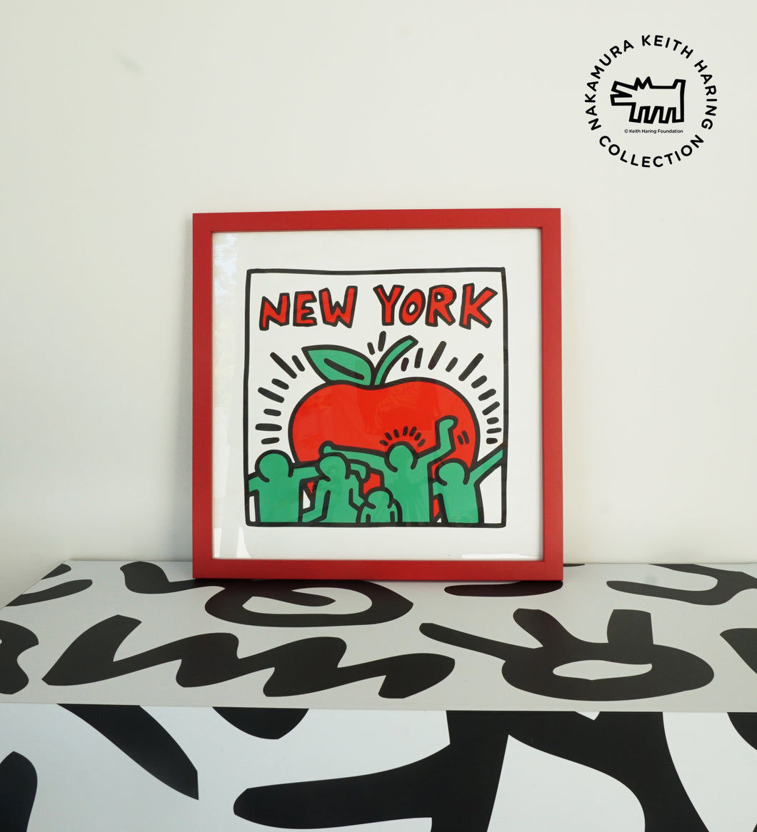 No.4  Framed Poster Untitled Pop Art - New York Size:S