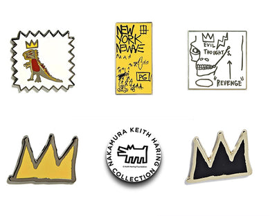Basquiat Pin