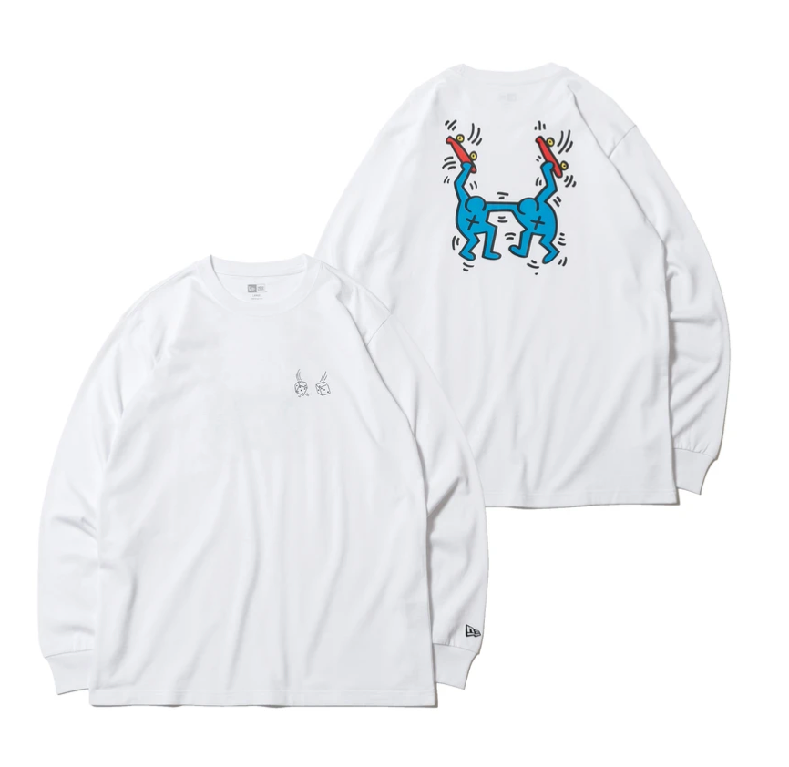 NEW ERA x Keith Haring Long Sleeve Tee Skaters