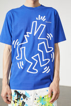 画像をギャラリービューアに読み込む, Études T-shirt Wonder Keith Haring BLUE E16S-445-KH1