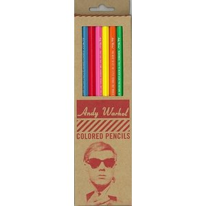 Andy Warhol Colored pencils