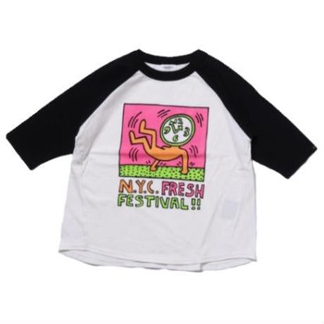 Groovy Colors (Kids) Keith Haring NYC FRESH BIGTee