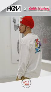 HEM x KEITH HARING Long Sleeve Tee People