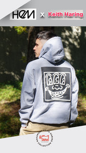 HEM x KEITH HARING Hoodie Three Eyes