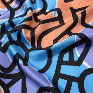 ⚠️ONLY AVAILABLE AT THE MUSEUM⚠️ Nakamura Keith Haring Original People Silk Scarf