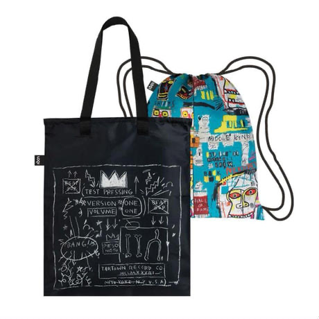 Basquiat Duo Back pack