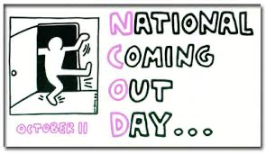 National Coming Out Day Bumper Sticker