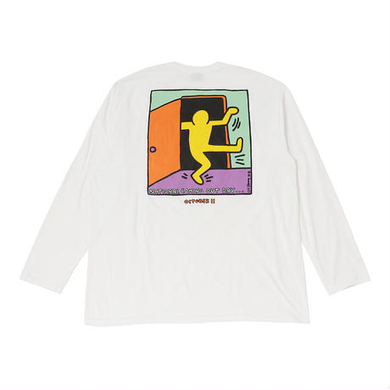 National Coming Out Day Keith Haring Long Sleeve Tshirt