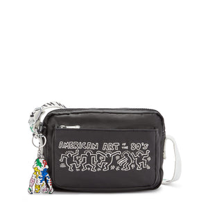KIPLING×Keith Haring ABANU Cross-Body Bag