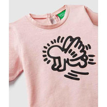 画像をギャラリービューアに読み込む, Benetton Keith Haring Kids (Mini) Long Sleeve Angel Pink