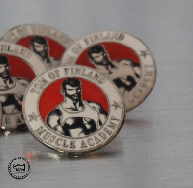 Tom of Finland Muscle Academy Pin