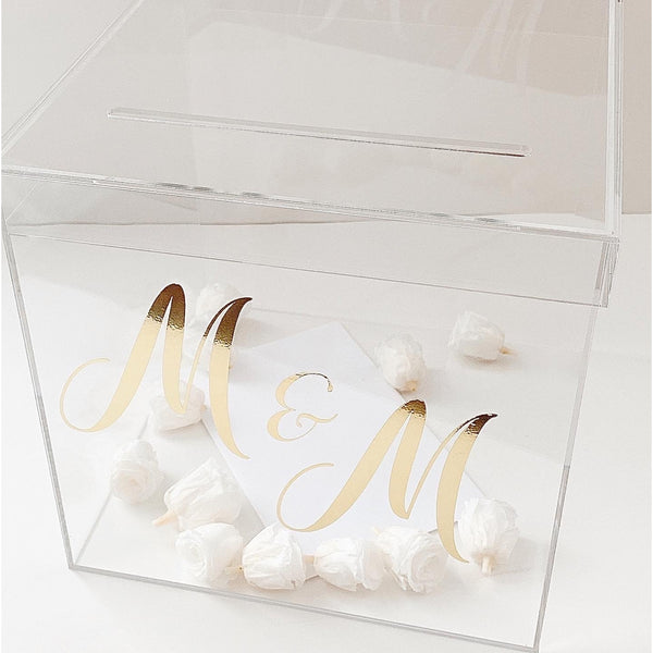 Lux Acrylic Card Box