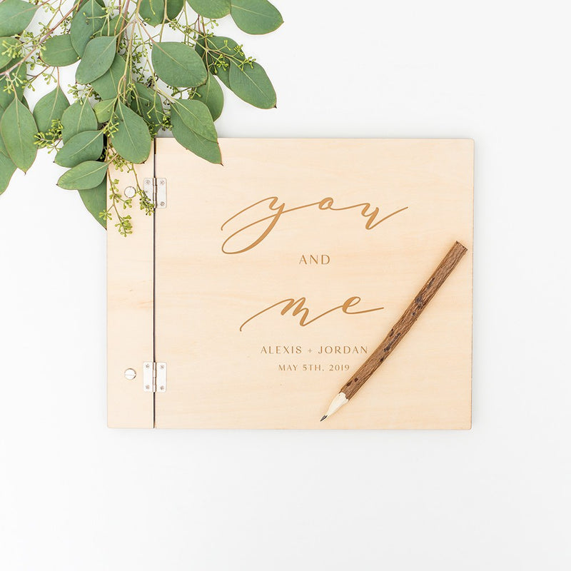 You & Me Natural Wood Guest