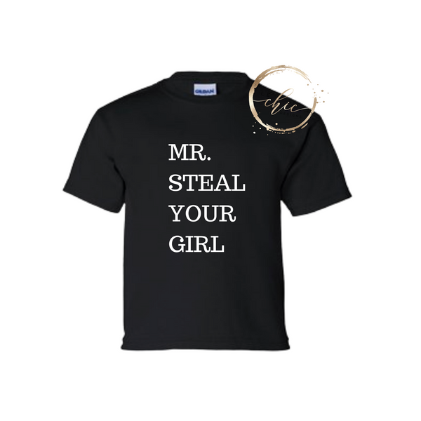 Mr. Steal your girl Kids T-Shirt