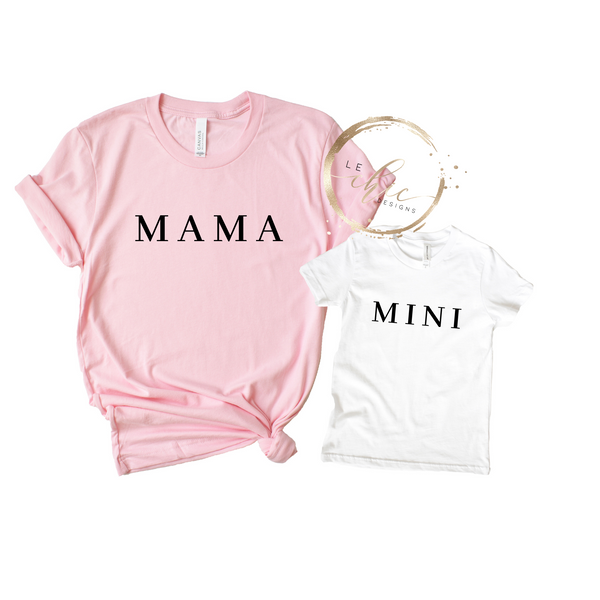 Mama & Mini T-Shirt Set