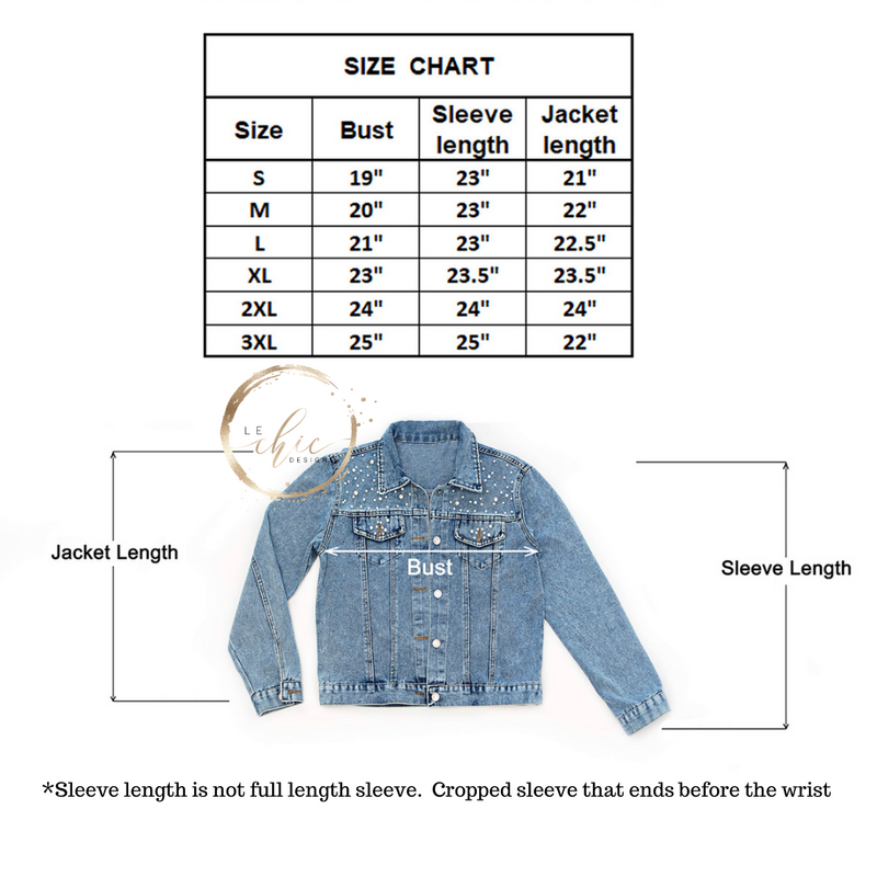 Pearl Chic Jean Jacket