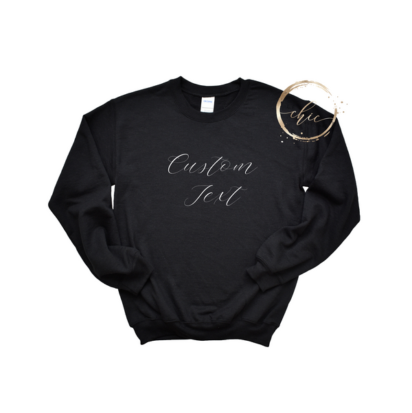 Custom Design Women's Crewneck
