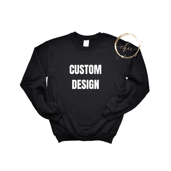 Custom Design Crewneck Men