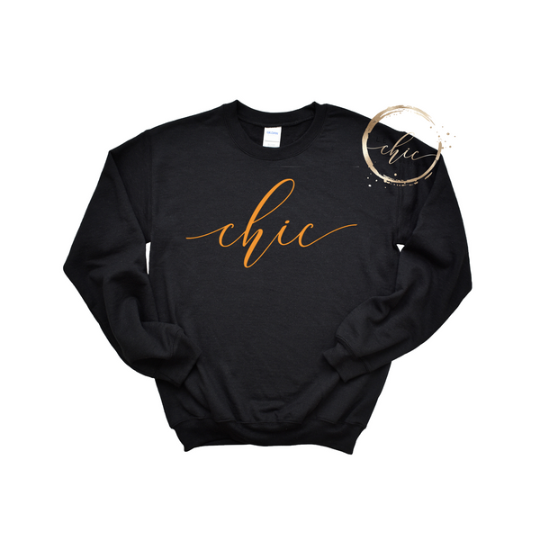 Signature Chic Crewneck