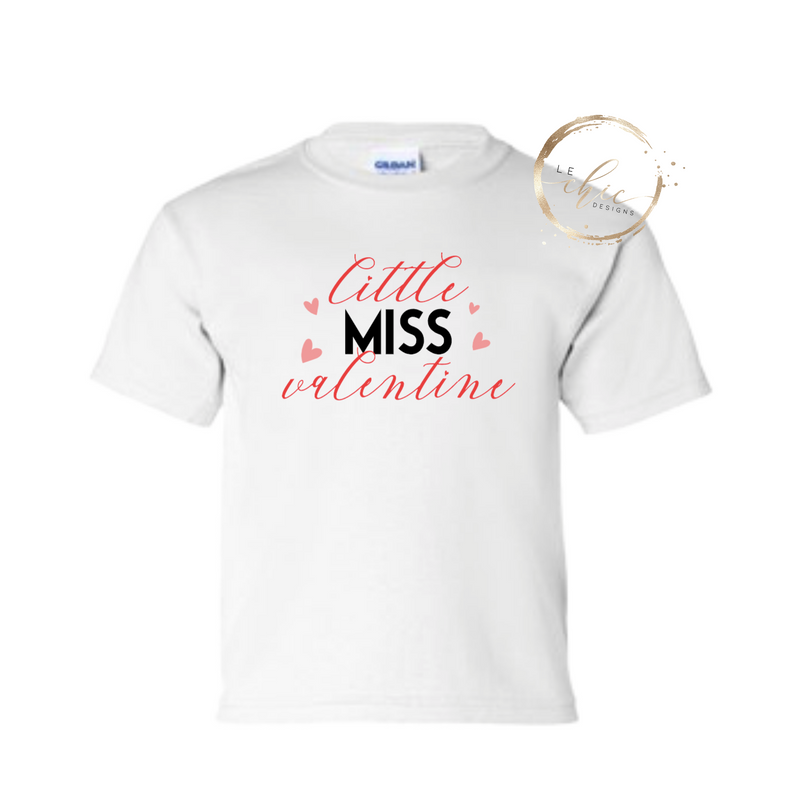 Little Miss Valentine T-Shirt