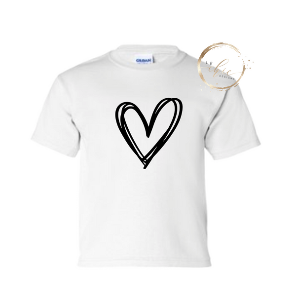 Open Heart Valentine T-Shirt