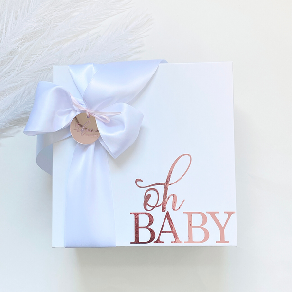 Oh Baby Little Girl Gift Box