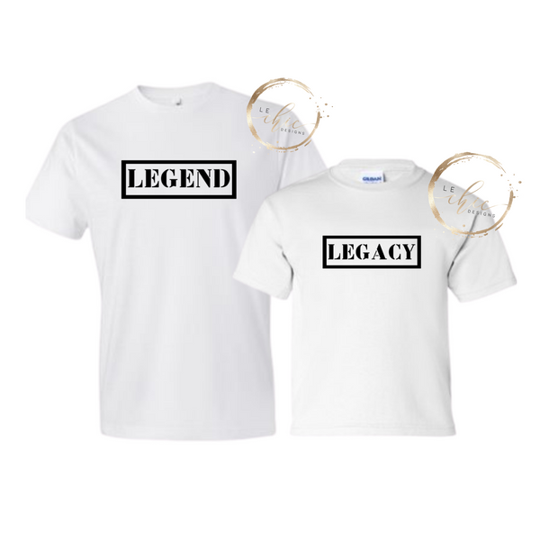 Legand & Legacy T-shirt set