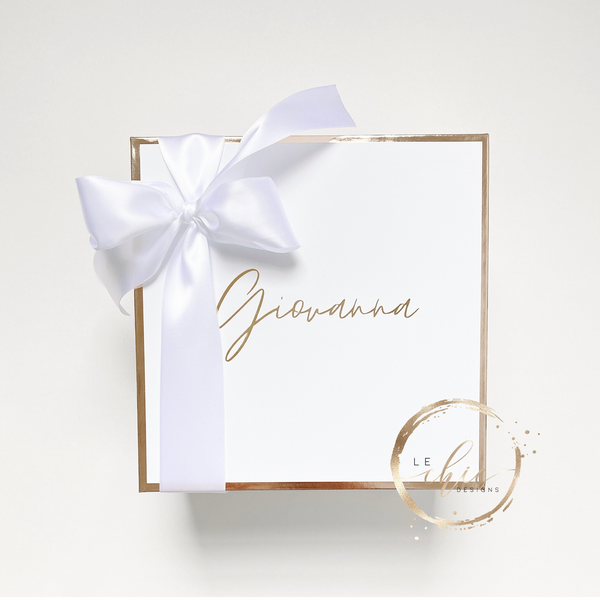 Lux Gift Box-White
