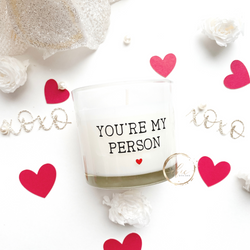 You're my person Valentine Candle