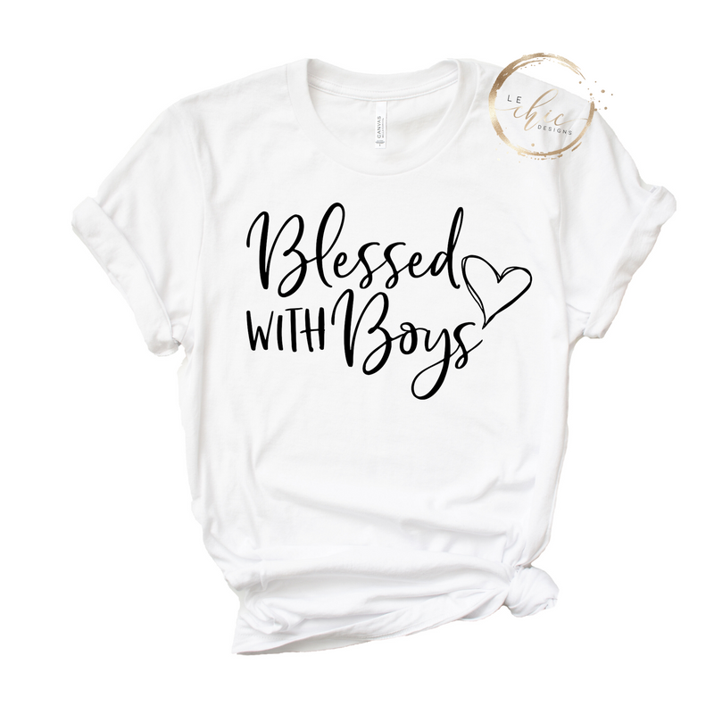 Blessed with Boys T-Shirt