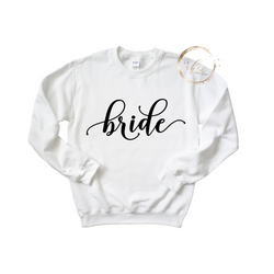 Bride Long Sleeve Crewneck