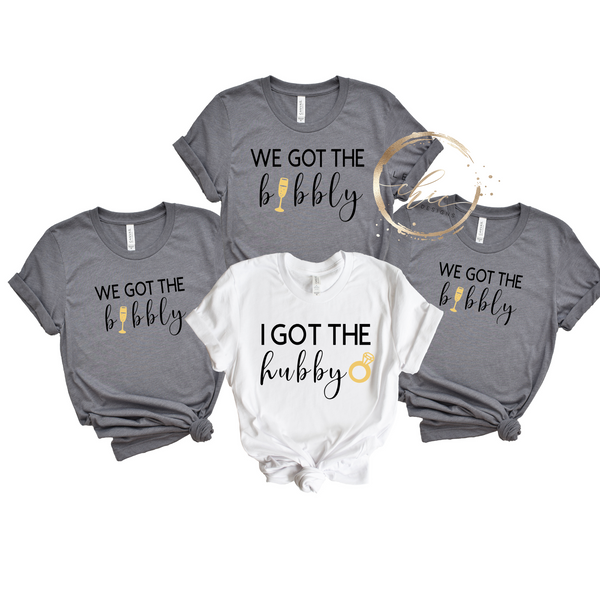 We got the bubbly Bridal Party Bundle
