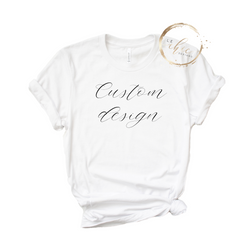Custom Design Slim Fit Tee