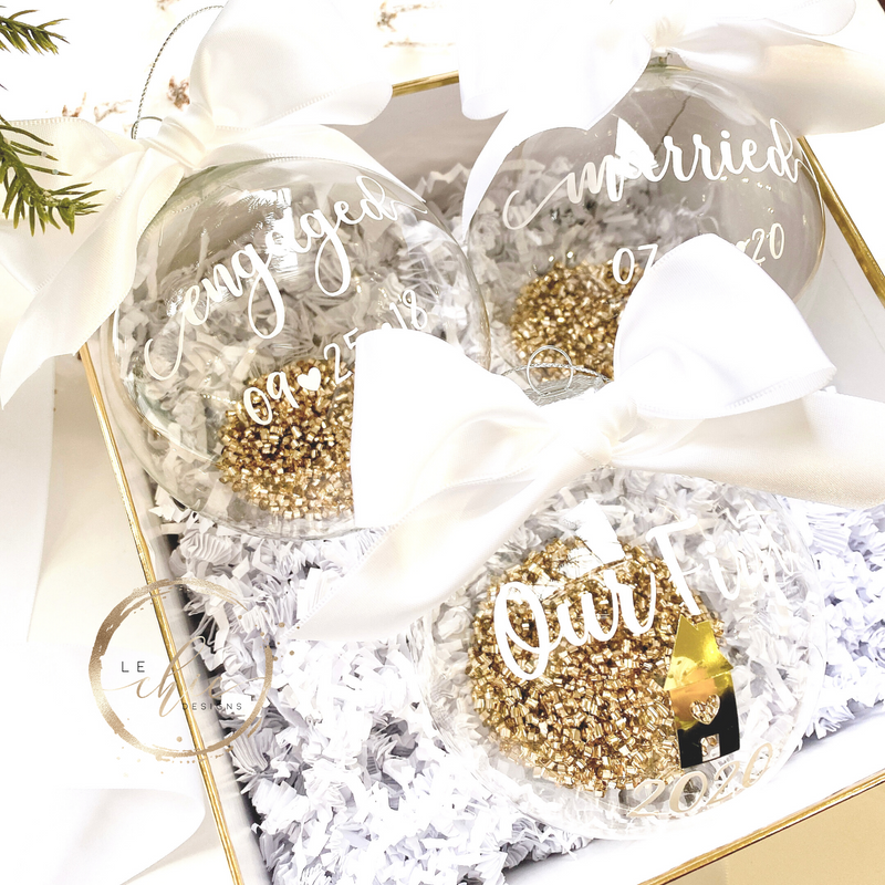 Engaged/Married Couple Christmas Gift set